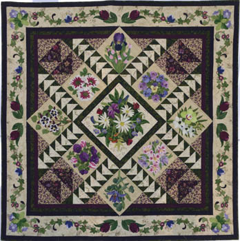 Beautiful Bouquets quilt
