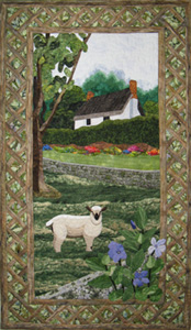 lamb cottage quilt