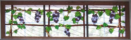 Grapes Stained Glass